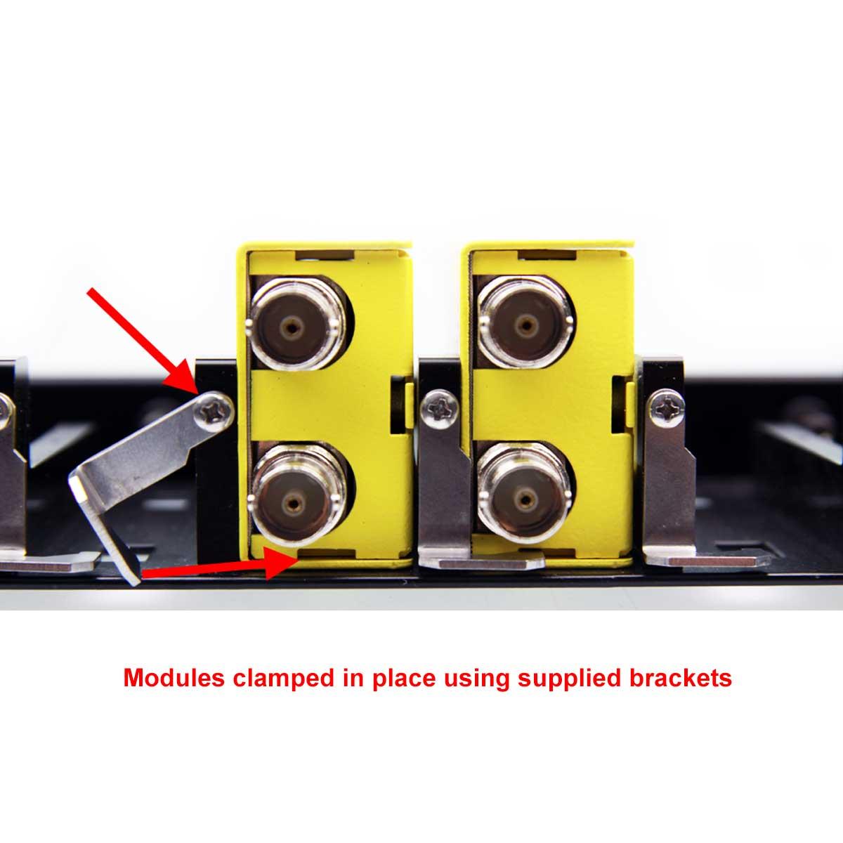 RFR 1000 yellobrik module bracket use