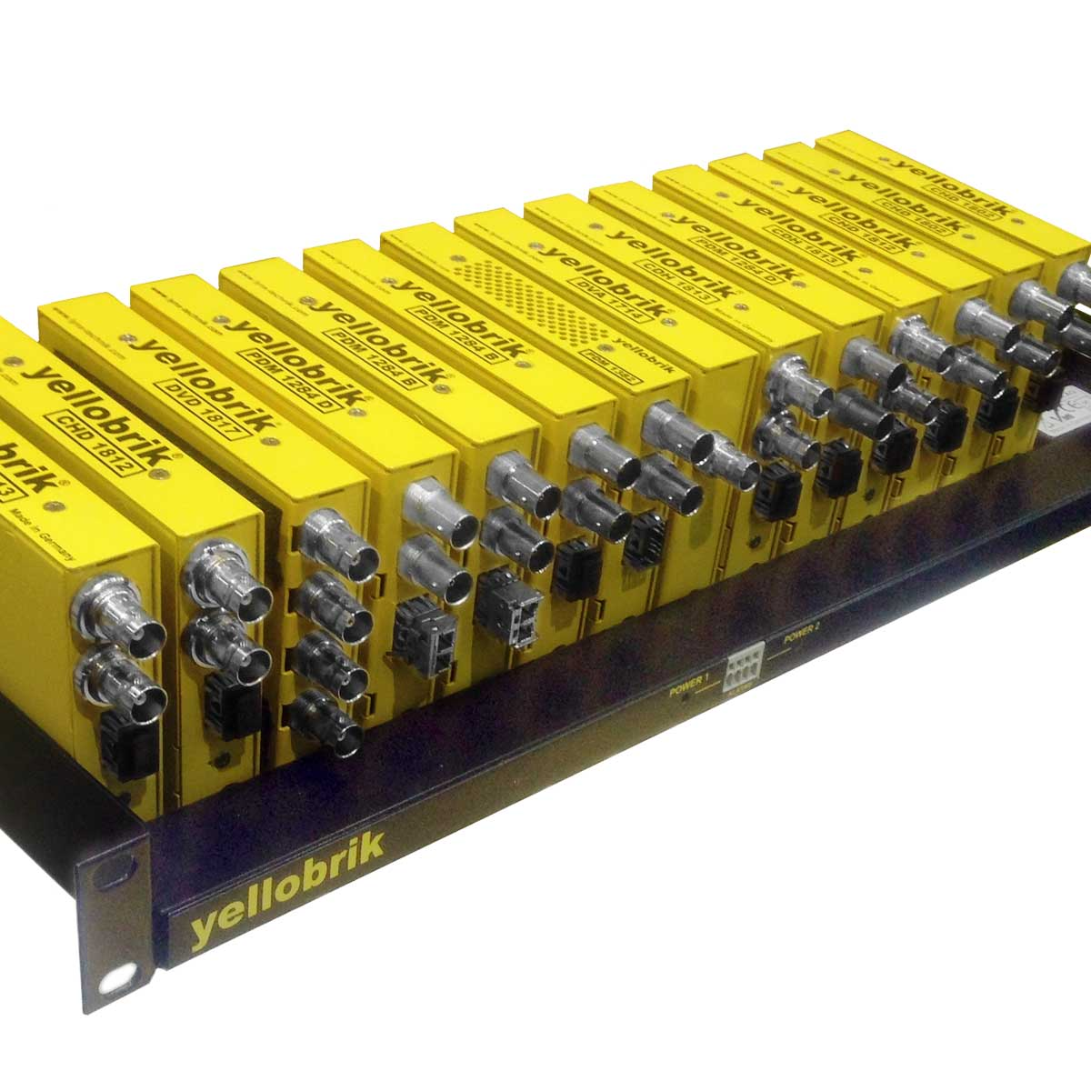 yellobrik modules in RFR 1000 Frame