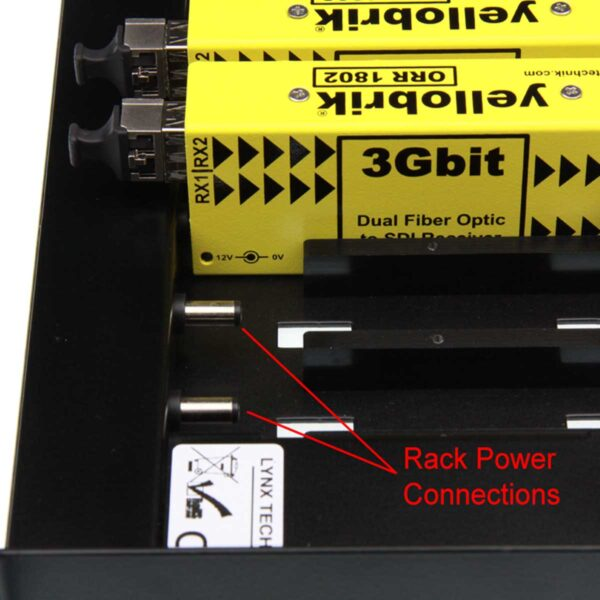 RFR 1000 yellobrik central power connectors