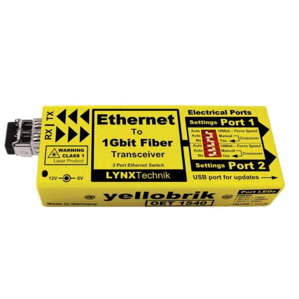 OET 1540 yellobrik Ethernet Transceiver (CWDM)