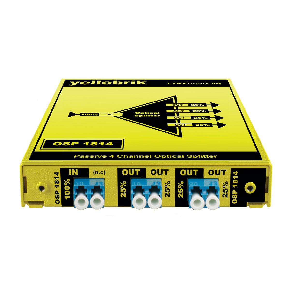 OSP 1814 yellobrik Optical Splitter