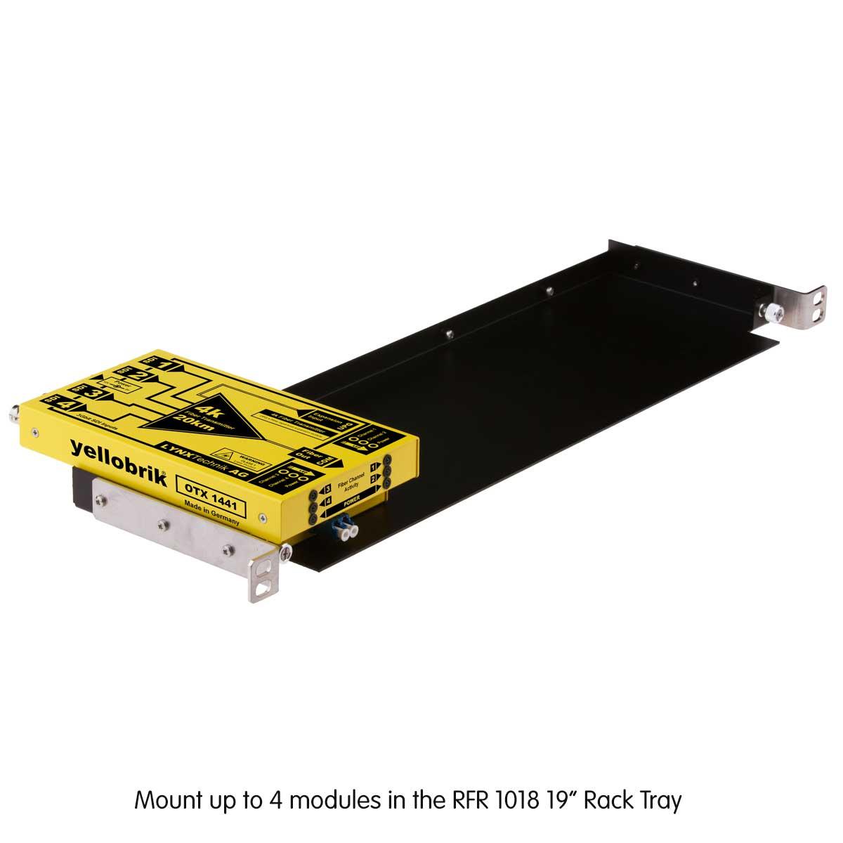 OTR 1441 yellobrik in RFR 1018 Rack Frame
