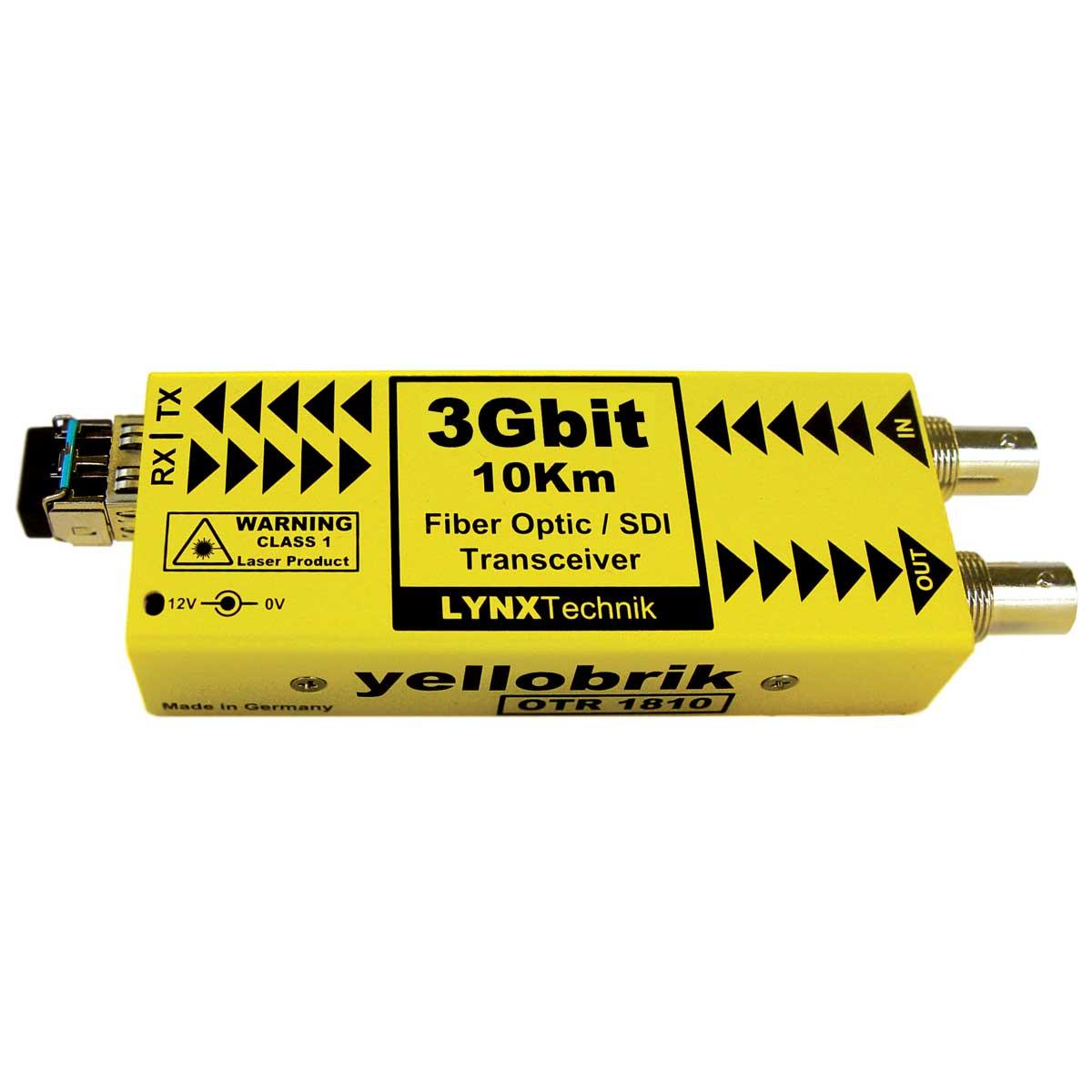 OTR 1810 yellobrik SDI Fiber Transceiver