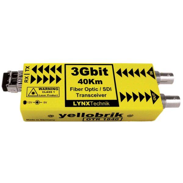 OTR 1840 yellobrik SDI Fiber Transceiver (CWDM)