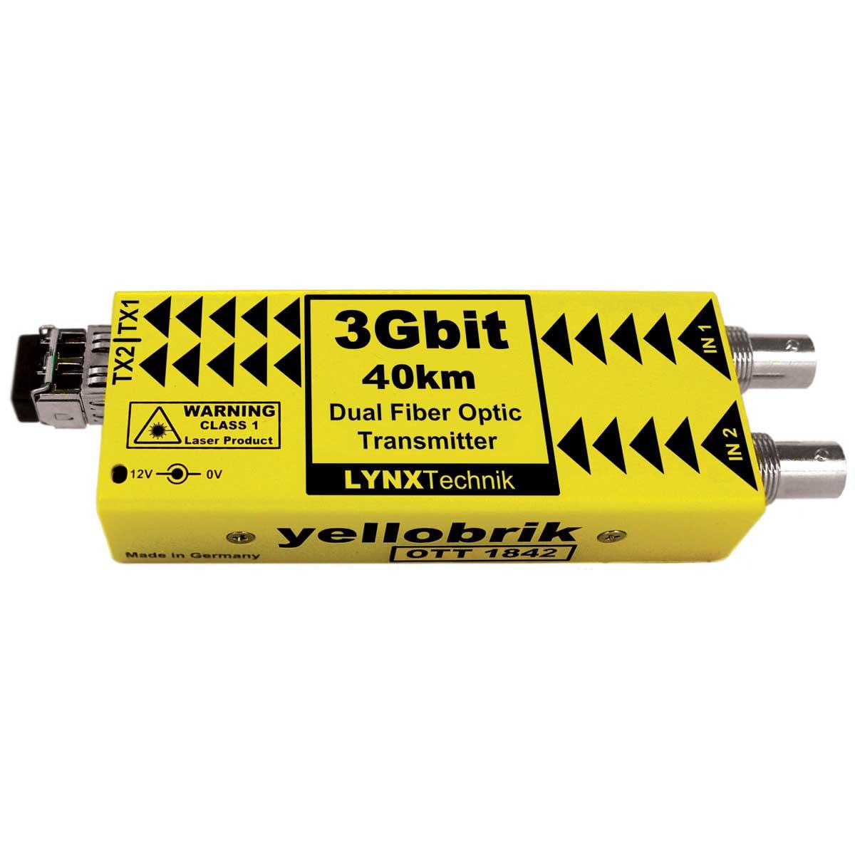 OTT 1842 yellobrik SDI Fiber Transmitter (CWDM)