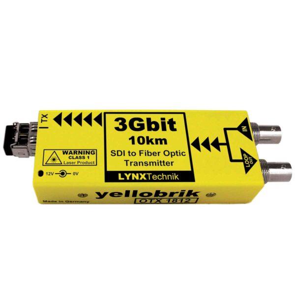 OTX 1812 yellobrik SDI Fiber Transmitter