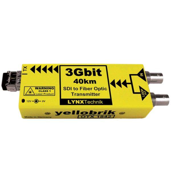 OTX 1842 yellobrik SDI Fiber Transmitter (CWDM)