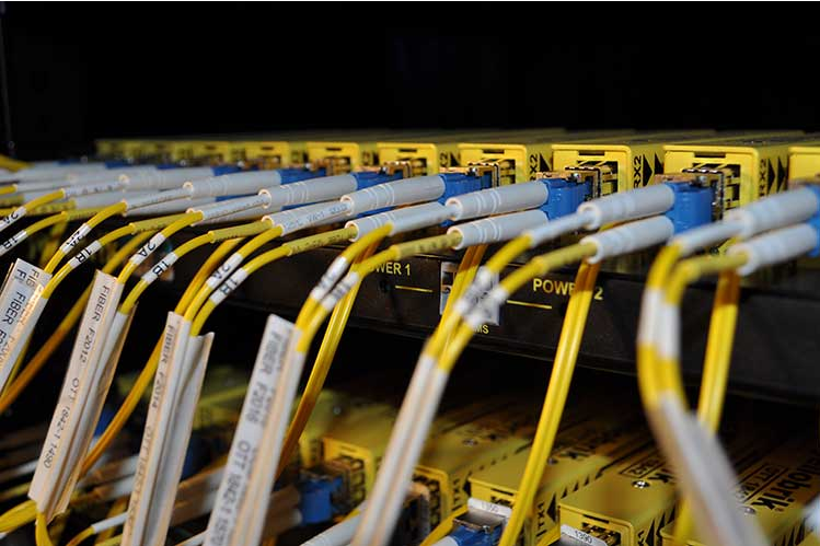 LYNX Technik yellobrik CWDM Fiber solutions installed in Colorado Studios 37HDX Truck