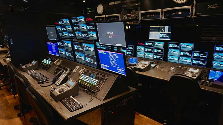 Colorado Studios / Mobile TV Group Replay Room in 37HDX truck